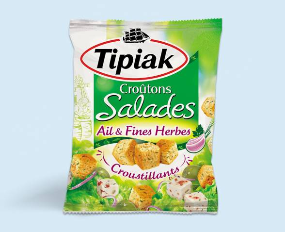 Herbs and Garlic cubic croutons TIPIAK