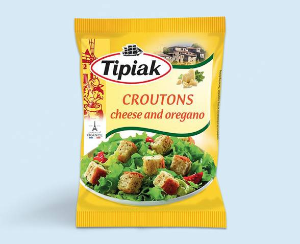 Croutons cheese and oregano TIPIAK