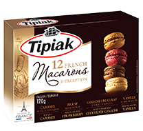 12 French Macarons TIPIAK