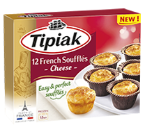 12 French Soufflés - Cheese TIPIAK