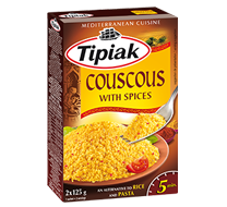Couscous with spices TIPIAK