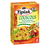 Couscous with tomatoes and provencal herbs TIPIAK