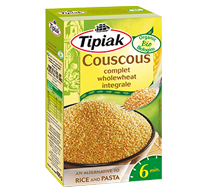 Organic wholewheat couscous TIPIAK