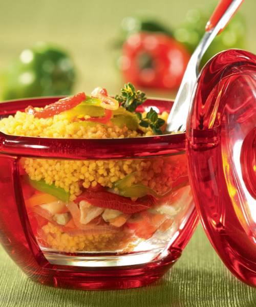 Mediterranean Style Couscous: Couscous